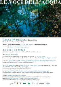 LE VOCI DELL'ACQUA di Ulderica Da Pozzo @ Ravascletto (Ud) - frazione Salars | Ravascletto | Friuli-Venezia Giulia | Italia