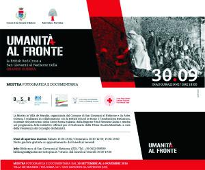 Umanità al fronte: La British Red Cross a San Giovanni al Natisone nella Grande Guerra @ SAN GIOVANNI AL NATISONE | San Giovanni Al Natisone | Friuli-Venezia Giulia | Italia
