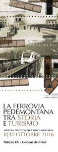 LA FERROVIA PEDEMONTANA TRA STORIA E TURISMO @ Gemona del Friuli (UD) | Ponte di Ferro | Umbria | Italia