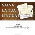 """Premio Nazionale """"Salva la tua lingua locale"""": i risultati della IV^ edizione"""