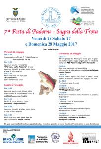 7^ Festa di Paderno - Sagra della Trota @ Udine - località Paderno | Udine | Friuli-Venezia Giulia | Italia