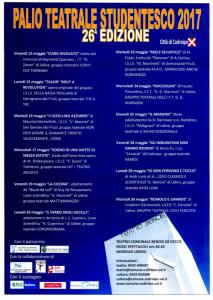 """Palio Teatrale studentesco @ Teatro Comunale """"Nicola Benois – Disma De Cecco"""" di Codroipo (Ud)   Codroipo   Friuli-Venezia Giulia   Italia"""
