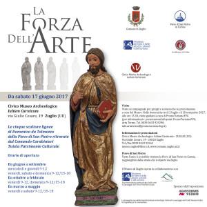 La forza dell'arte: sculture lignee in mostra a Zuglio @ Zuglio (Ud) | Zuglio | Friuli-Venezia Giulia | Italia