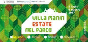 Presentato il programma di Villa Manin Estate nel Parco 2017