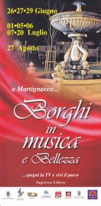 Borghi in Musica e Bellezza @ Martignacco (Ud) | Martignacco | Friuli-Venezia Giulia | Italia
