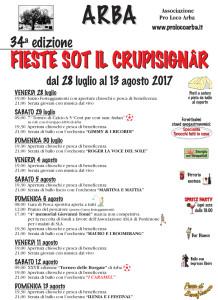 Fieste sot il crupisignâr @ Arba (Pn) | Arba | Friuli-Venezia Giulia | Italia