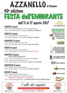 40a ed. Festa dell'Emigrante @ Azzanello di Pasiano (Pn) | Azzanello | Friuli-Venezia Giulia | Italia