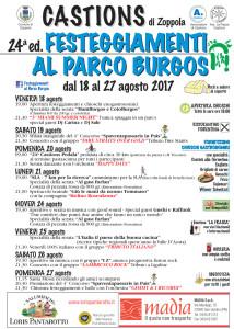 Festeggiamenti al Parco Burgos @ Castions di Zoppola (Pn)   Castions   Friuli-Venezia Giulia   Italia