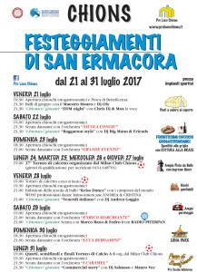 Festeggiamenti di San Ermacora @ Chions (Pn) | Friuli-Venezia Giulia | Italia