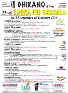 Sagra del baccalà @ Ghirano di Prata (Pn) | Ghirano | Friuli-Venezia Giulia | Italia