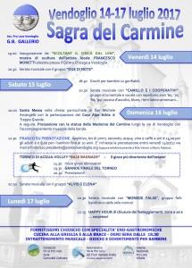 SAGRA del CARMINE 2017 @ Vendoglio, comune di Treppo Grande (UD) | Vendoglio-Carvacco | Friuli-Venezia Giulia | Italia