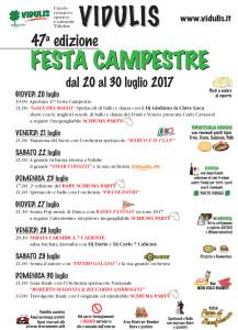 Festa campestre 2017 @ Vidulis (Ud) | Vidulis | Friuli-Venezia Giulia | Italia