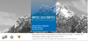 Mitici&Dolomitici - Gli dei della montagna @ Codroipo (Ud) | San Martino | Friuli-Venezia Giulia | Italia