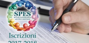 """A OTTOBRE PARTE UN ANNO DI """"SPES"""": ISCRIZIONI FINO AL 30 SETTEMBRE"""