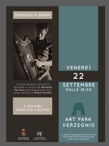 Omaggio a Gaber @ Art Park di Villa di Verzegnis | Villa | Friuli-Venezia Giulia | Italia