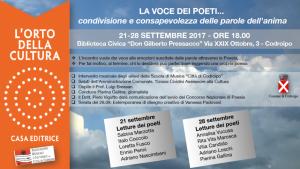 La voce dei poeti @ biblioteca civica di Codroipo | Codroipo | Friuli-Venezia Giulia | Italia