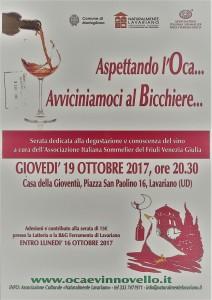 Aspettando l' Oca... Avviciniamoci al Bicchiere @ Lavariano (Ud) | Lavariano | Friuli-Venezia Giulia | Italia