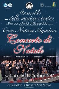 Concerto di Natale - Coro Natissa di Aquileia @ Cervignano Del Friuli - Fraz. Strassoldo   Strassoldo   Friuli-Venezia Giulia   Italia