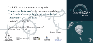 La Grande Musica nei luoghi della Grande Guerra @ Gorizia | Gorizia | Friuli-Venezia Giulia | Italia