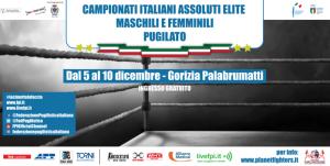 Campionati italiani assoluti elite maschili e femminili di pugilato @ Gorizia | Gorizia | Friuli-Venezia Giulia | Italia
