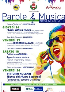 Parole & Musica @ Casa della Gioventù di Lavariano (UD) | Lavariano | Friuli-Venezia Giulia | Italia