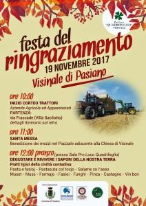 Festa del Ringraziamento @ Visinale di Pasiano (PN) | Visinale | Friuli-Venezia Giulia | Italia