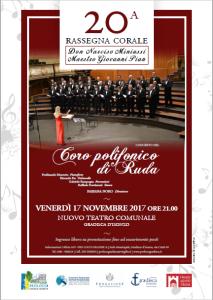 Concerto del coro polifonico di Ruda @ Gradisca d'Isonzo (GO) | Gradisca | Friuli-Venezia Giulia | Italia