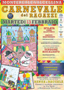 50^ed. Carnevale dei Ragazzi @ Montereale Valcellina (PN) | Montereale Valcellina | Friuli-Venezia Giulia | Italia