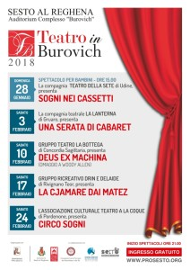 Teatro in Burovich @ Auditorium Complesso Burovich | Sesto Al Reghena | Friuli-Venezia Giulia | Italia