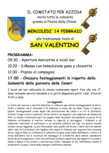 Festa di San Valentino @ Azzida di San Pietro al Natisone (UD) | San Pietro Al Natisone | Friuli-Venezia Giulia | Italia