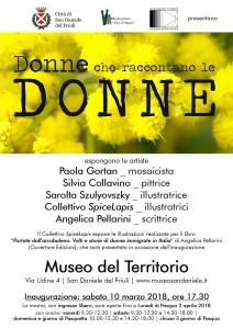 Donne che Raccontano le Donne @ San Daniele del Friuli (UD) | San Daniele del Friuli | Friuli-Venezia Giulia | Italia