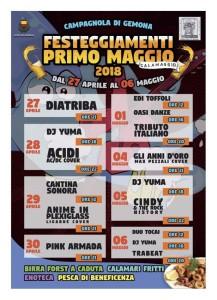 Festeggiamenti Primo Maggio @ Campagnola di Gemona (UD) | Gemona | Friuli-Venezia Giulia | Italia