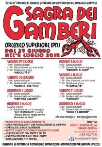 Sagra dei Gamberi @ Orcenico Superiore (PN)   Orcenico Superiore   Friuli-Venezia Giulia   Italia