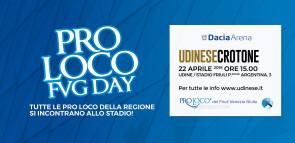 PRO LOCO FVG DAY: il 22 aprile allo stadio per Udinese-Crotone