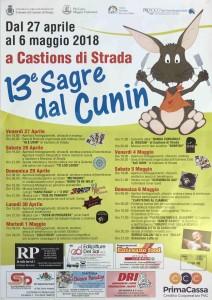 13^ Sagre dal Cunin @ Castions di Strada | Friuli-Venezia Giulia | Italia