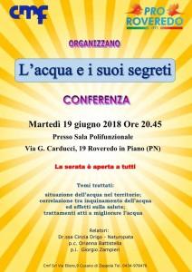 L'Acqua e i suoi Aegreti @ Roveredo in Piano (PN) | Roveredo in Piano | Friuli-Venezia Giulia | Italia