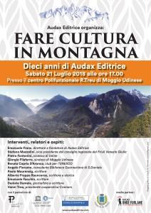 Convegno: Fare Cultura in Montagna. 10 Anni di Editoria in Montagna con Audax @ Moggio di Sotto (UD) | Moggio di Sotto | Friuli-Venezia Giulia | Italia