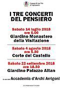 I Tre Concerti del Pensiero @ San Vito al Tagliamento (PN) | San Vito al Tagliamento | Friuli-Venezia Giulia | Italia