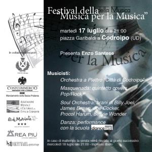 Festival della Musica per la Musica @ Codroipo (UD) | Codroipo | Friuli-Venezia Giulia | Italia