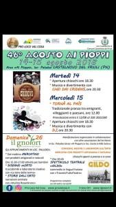 46^ ed. Agosto ai Pioppi @ Castelnovo del Friuli (UD)   Friuli-Venezia Giulia   Italia