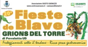Fieste de Blave @ Grions del Torre di Povoletto (UD) | Grions | Friuli-Venezia Giulia | Italia
