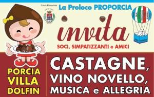 Castagne, Vino Novello, Musica e Allegria @ Porcia (PN)   Porcia   Friuli-Venezia Giulia   Italia