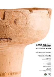 Serie OLDUVAI. Mostra personale di DAZ / Daniela Moretti @ Codroipo (Ud) | Friuli-Venezia Giulia | Italia