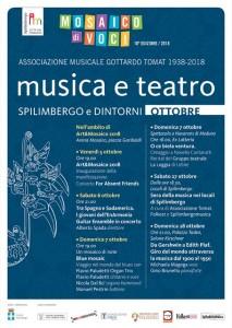 Musica e Teatro. Spilimbergo e Dintorni. Ottobre @ Spilimbergo (PN) | Spilimbergo | Friuli-Venezia Giulia | Italia