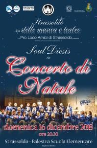 Concerto Gospel di Natale - Coro Soul Diesis @ Strassoldo (UD) | Strassoldo | Friuli-Venezia Giulia | Italia