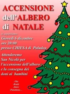 Accensione dell'Albero di Natale @ Palduea di Castelnovo del Friuli (PN)