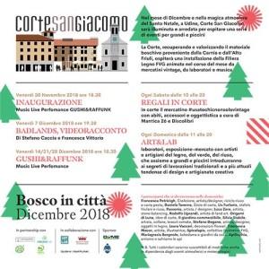 Bosco in Città in Corte San Giacomo @ Udine