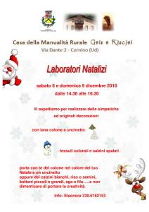 Laboratori Natalizi @ Cornino (UD)