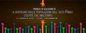 Pranzo di solidarietà @ Area Festeggiamenti - Latisanotta