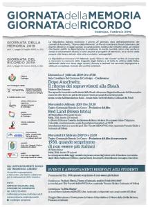 Giornata della Mermoria - Giornata del Ricordo @ Codroipo    Friuli-Venezia Giulia   Italia